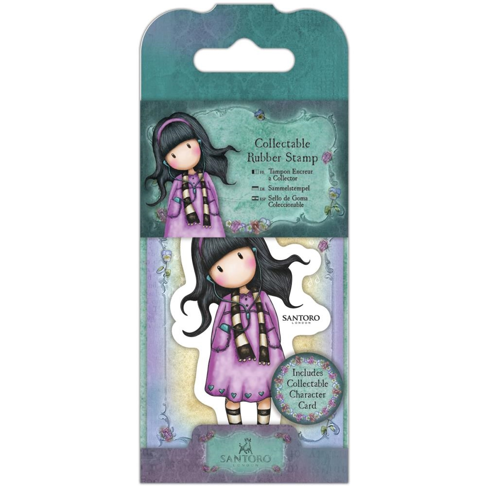 DoCrafts LITTLE SONG Mini Cling Stamp Gorjuss go907403 zoom image