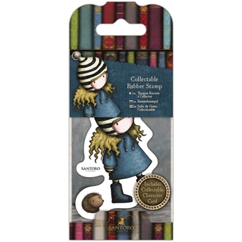 DoCrafts THE FRIENDLY HEDGEHOG Mini Cling Stamp Gorjuss go907415
