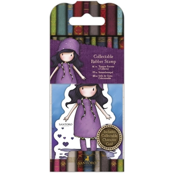 DoCrafts RAINY DAZE Mini Cling Stamp Gorjuss go907416