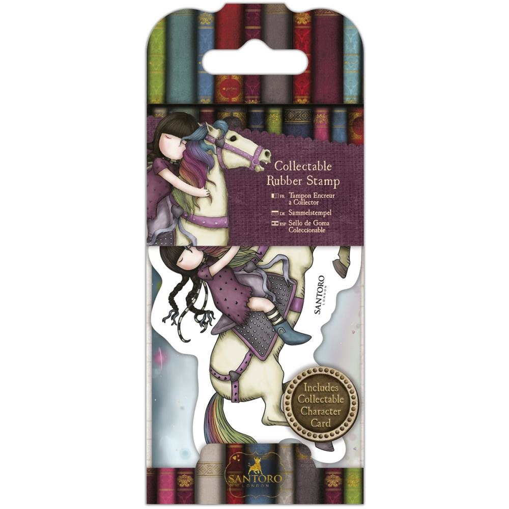 DoCrafts THE RUNAWAY Mini Cling Stamp Gorjuss go907418 zoom image