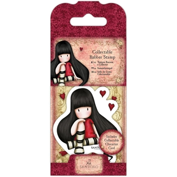 DoCrafts THE COLLECTOR Mini Cling Stamp Gorjuss go907401