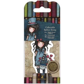 DoCrafts THE HATTER Mini Cling Stamp Gorjuss go907409