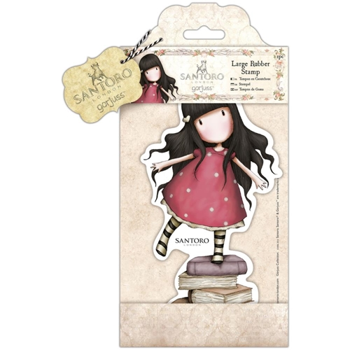 DoCrafts NEW HEIGHTS Large Cling Stamp Gorjuss go907255 Preview Image