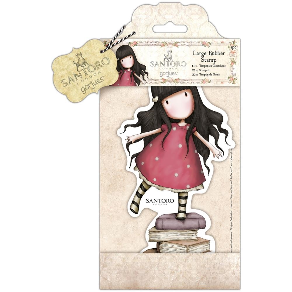 DoCrafts NEW HEIGHTS Large Cling Stamp Gorjuss go907255 zoom image