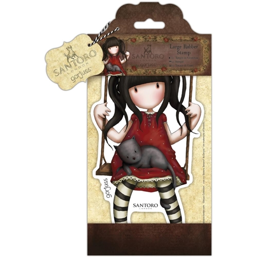 DoCrafts RUBY Large Cling Stamp Gorjuss go907251 Preview Image