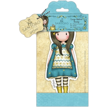 DoCrafts THE LITTLE FRIEND Large Cling Stamp Gorjuss go907252*