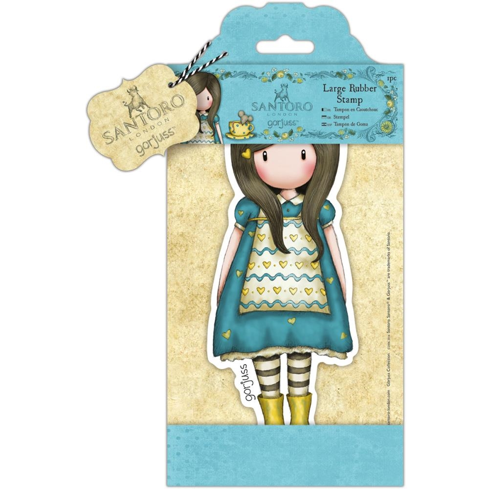 DoCrafts THE LITTLE FRIEND Large Cling Stamp Gorjuss go907252 zoom image