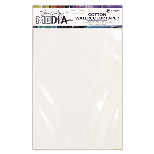 Dina Wakley Cotton Watercolor Paper Pack