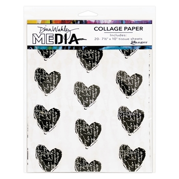 Dina Wakley Ranger COLLAGE PAPER Media mda61076