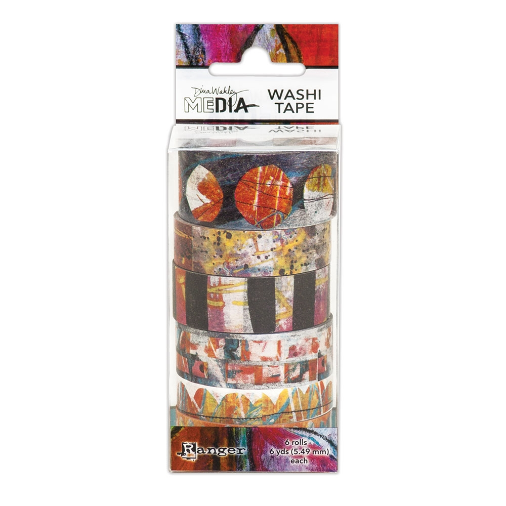 Dina Wakley Ranger WASHI TAPE 2 Media mda59981 zoom image