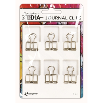 RESERVE Dina Wakley Ranger SMALL JOURNAL CLIPS Media mda60291