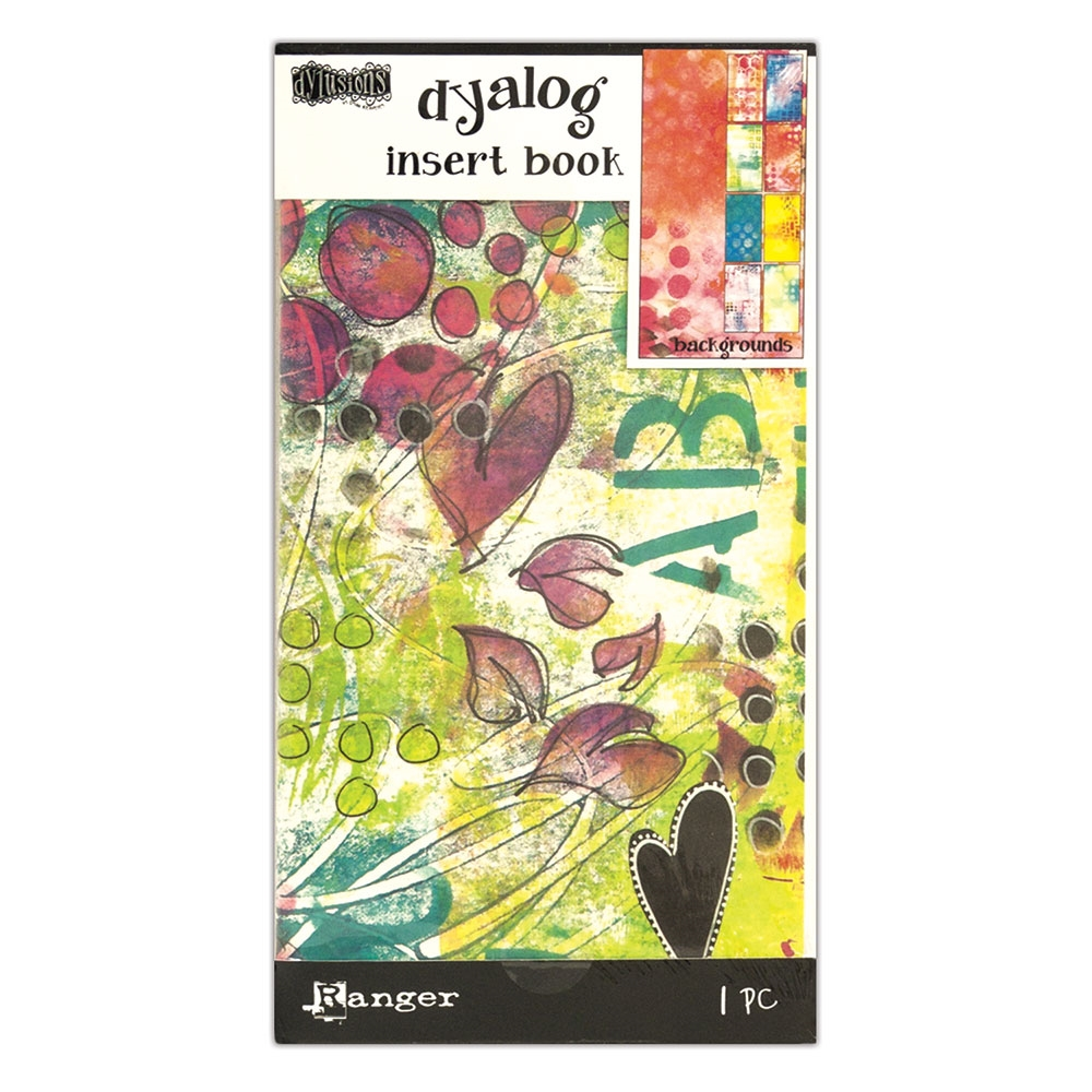 Ranger Dylusions BACKGROUNDS Dyalog Insert Book dyt60536 zoom image