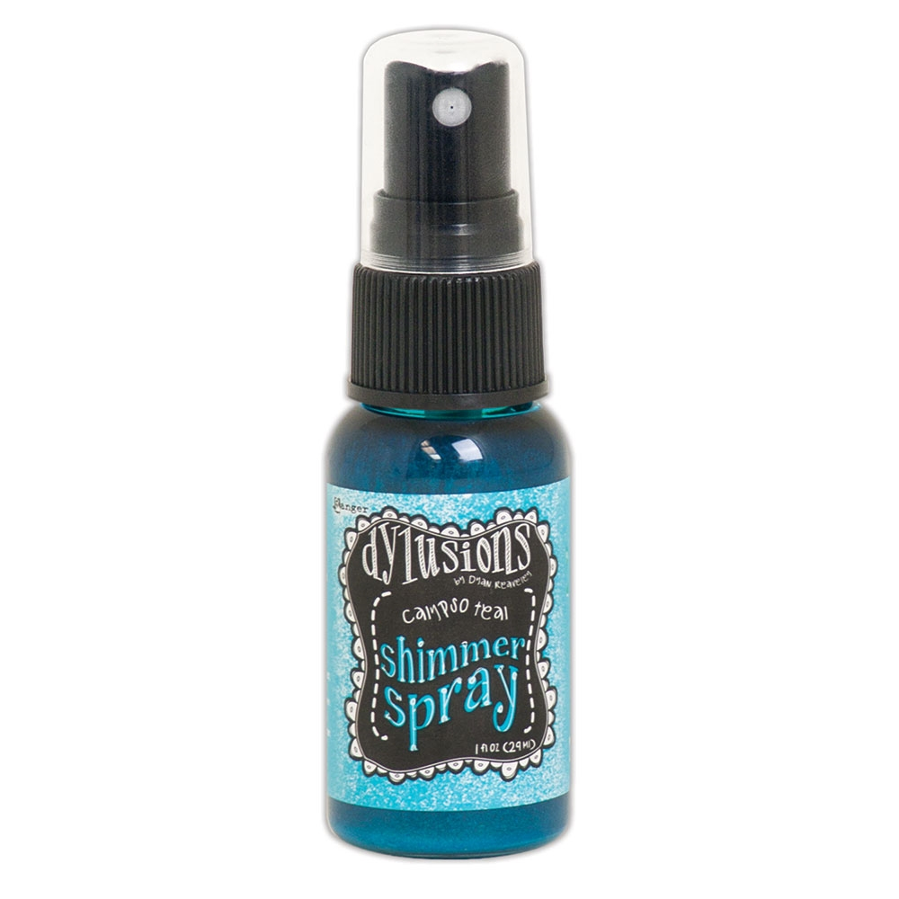 Ranger Dylusions CALYPSO TEAL Shimmer Sprays dyh60789 zoom image