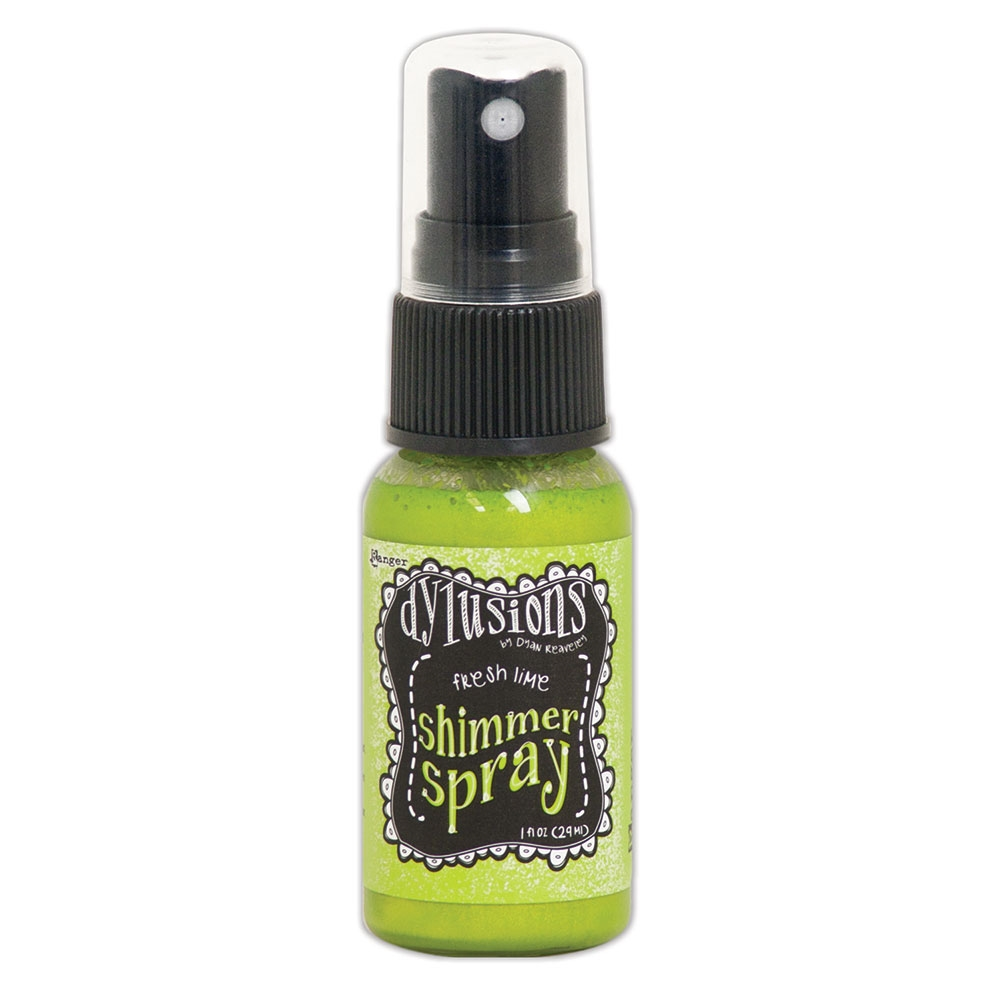 Ranger Dylusions FRESH LIME Shimmer Sprays dyh60819 zoom image