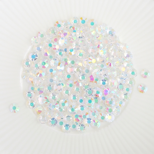 Little Things From Lucy's Cards Jewels CHUNKY CLEAR IRIDESCENT MIX LBJ22 Preview Image