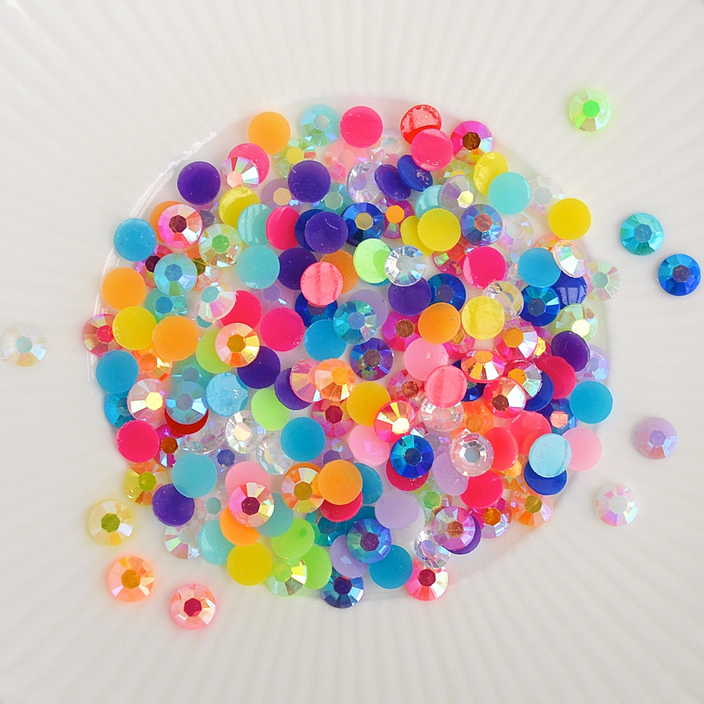 Little Things From Lucy's Cards CHUNKY RAINBOW SPARKLE Jewels LBJ23 zoom image