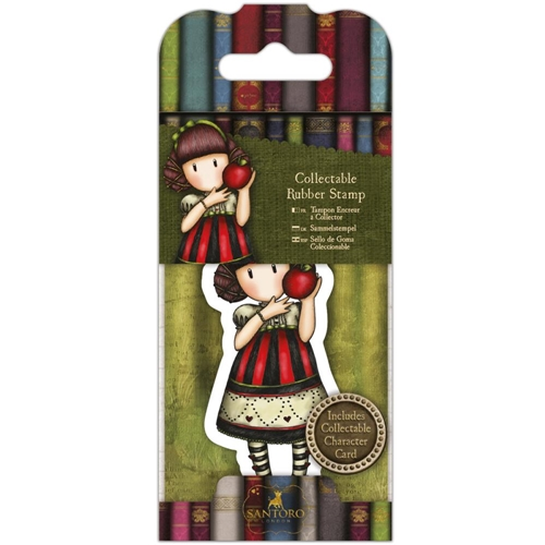 DoCrafts DEAR APPLE Mini Cling Stamp Gorjuss go907417 Preview Image
