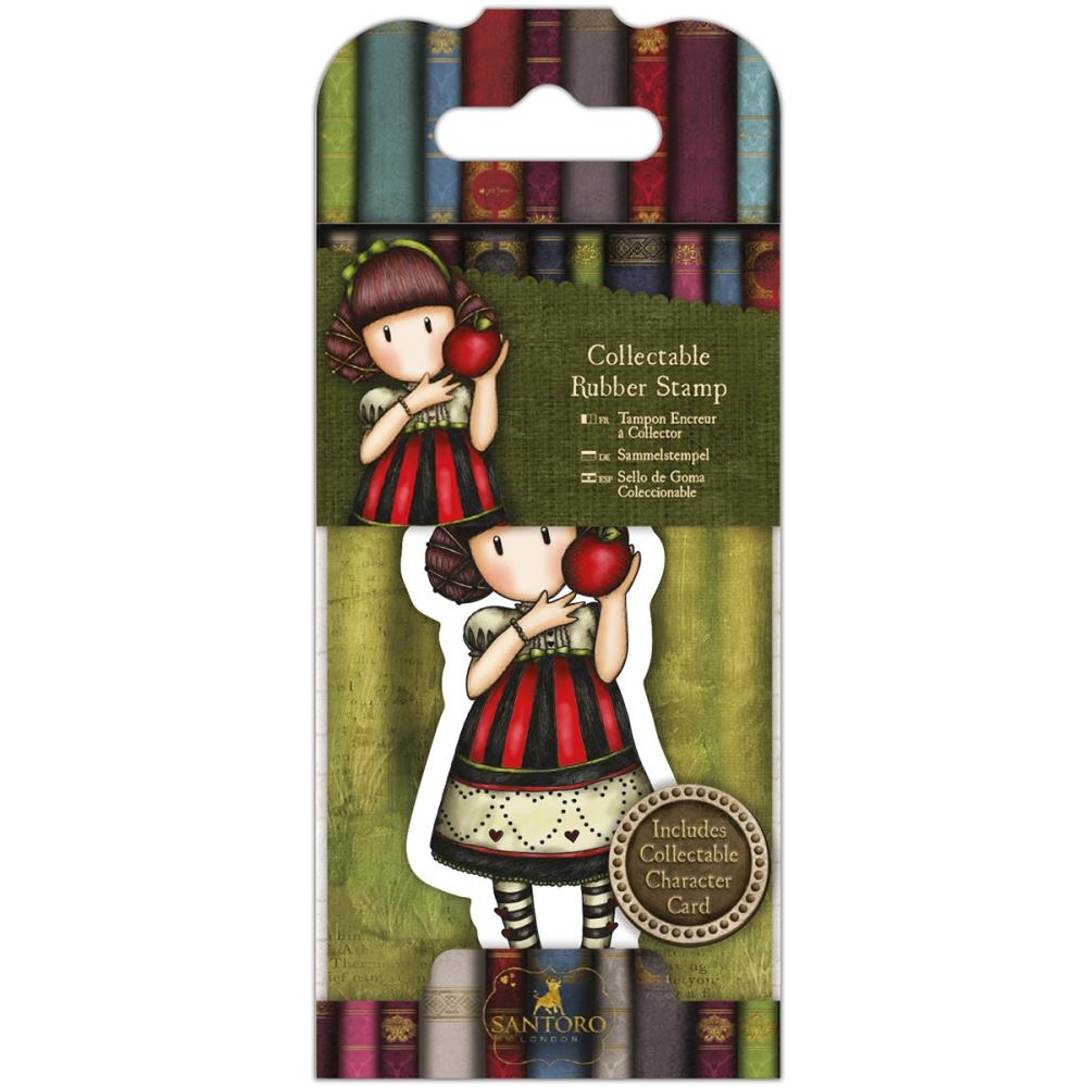 DoCrafts DEAR APPLE Mini Cling Stamp Gorjuss go907417 zoom image