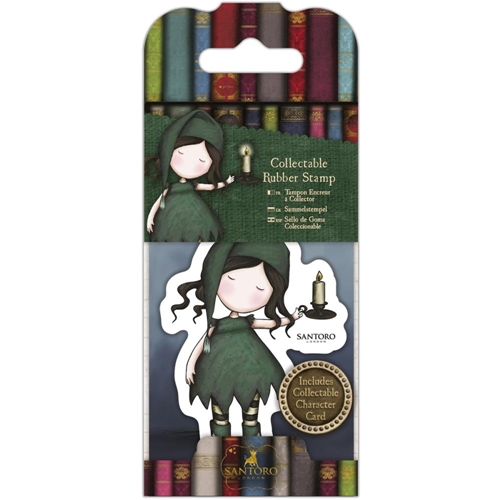 DoCrafts NIGHLIGHT Mini Cling Stamp Gorjuss go907414 Preview Image