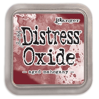 Tim Holtz Distress Oxide Ink Pad AGED MAHOGANY Ranger tdo55785