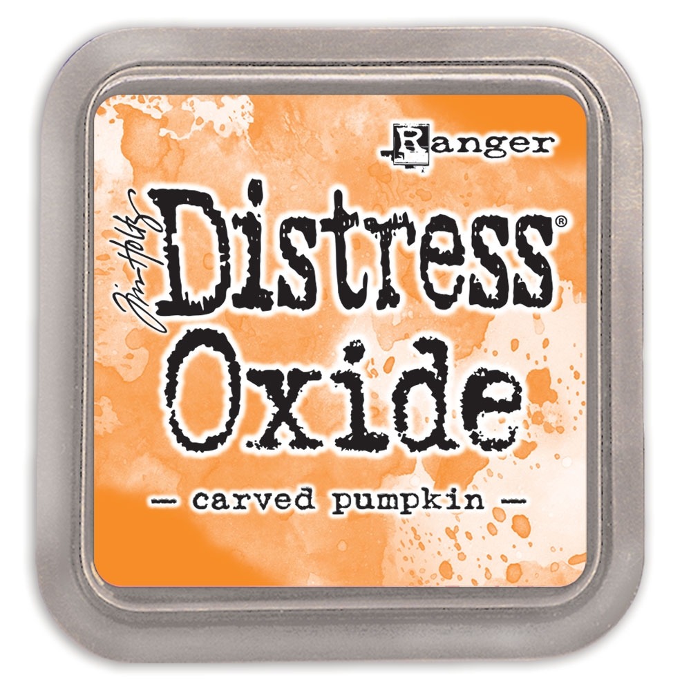 Tim Holtz Distress Oxide Ink Pad CARVED PUMPKIN Ranger tdo55877 zoom image