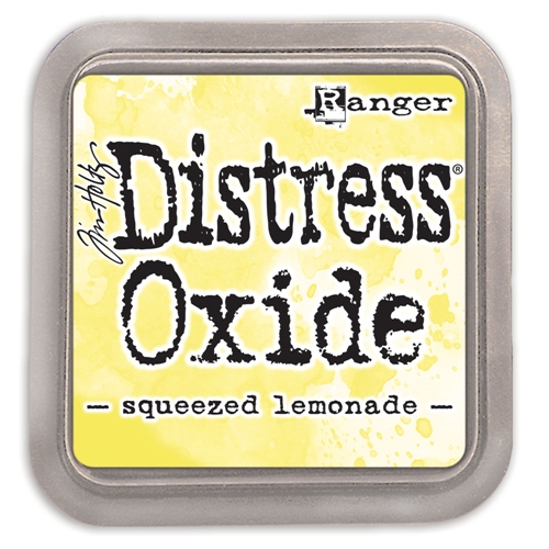 Tim Holtz Distress Oxide Ink Pad SQUEEZED LEMONADE Ranger tdo56249 Preview Image
