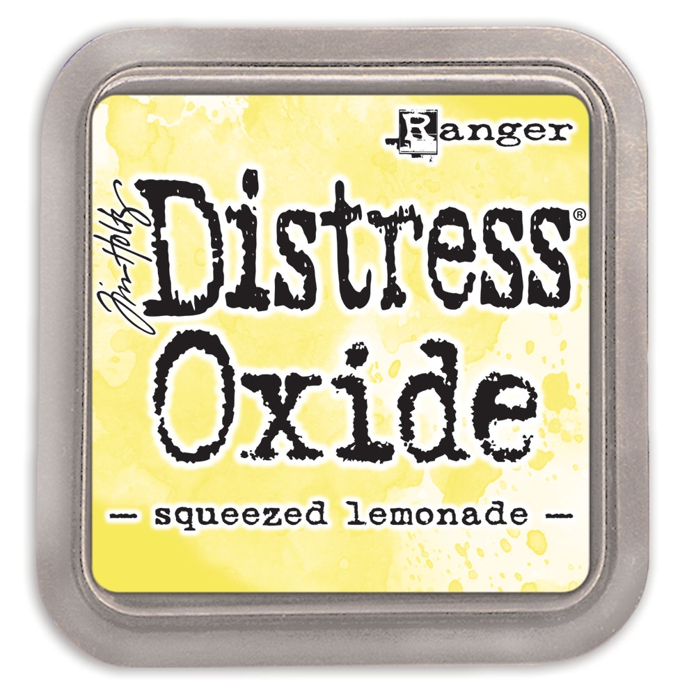 Tim Holtz Distress Oxide Ink Pad SQUEEZED LEMONADE Ranger tdo56249
