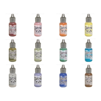 RESERVE Tim Holtz Distress OXIDE REINKERS SET OF 12 Ranger ranger110