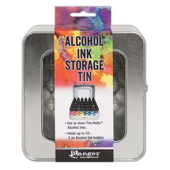 RESERVE Tim Holtz ALCOHOL INK STORAGE TIN Ranger tac58618
