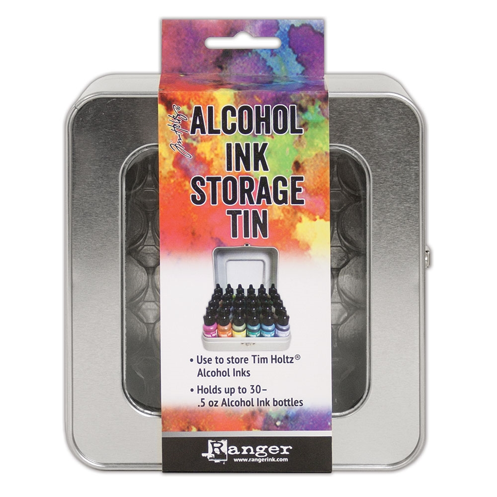 Alcohol Ink Tin