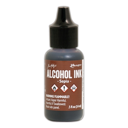 Tim Holtz Alcohol Ink SEPIA Ranger tal59448 Preview Image
