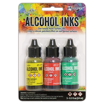 RESERVE Tim Holtz Alcohol Ink Set KEY WEST Ranger tak58748