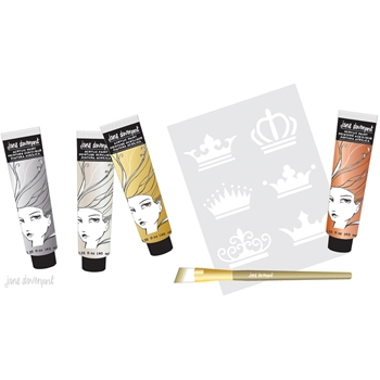 Jane Davenport METALLICS Mixed Media Acrylic Paint Kit 320556