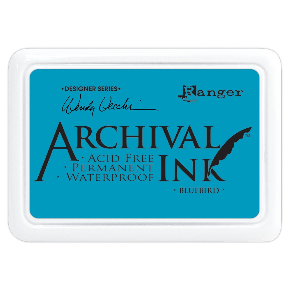 Ranger Wendy Vecchi Archival BLUEBIRD Ink Pad aid61243 zoom image