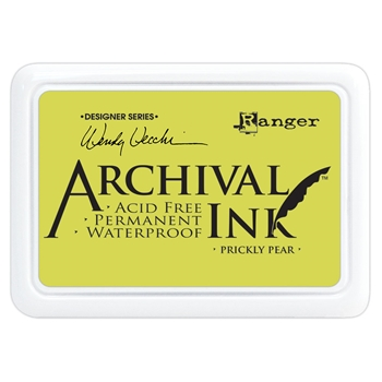 Ranger Wendy Vecchi Archival PRICKLY PEAR Ink Pad aid61274