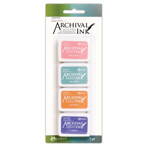 Ranger Wendy Vecchi Mini Archival Ink Pads KIT 3 amdk58953 Preview Image