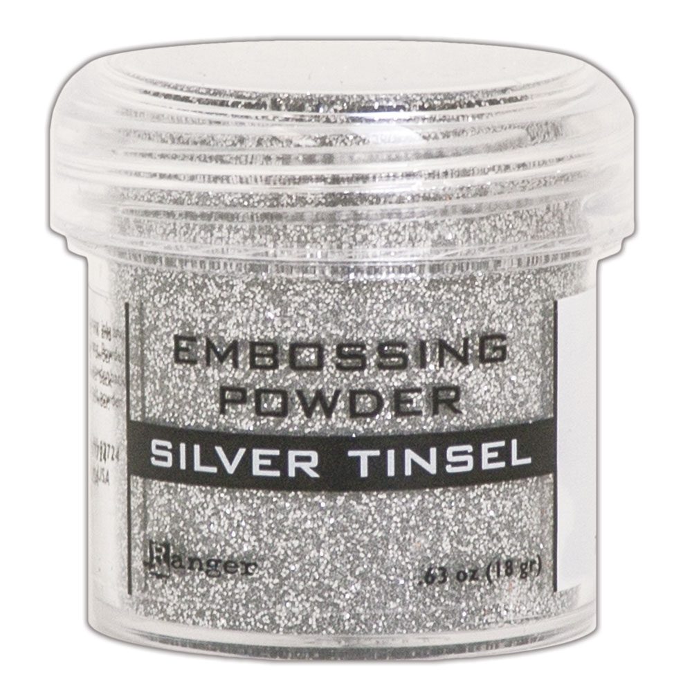 Ranger Embossing Powder SILVER TINSEL epj60437 zoom image