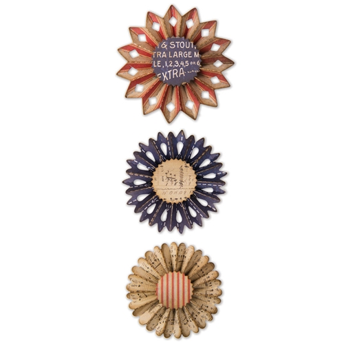 Tim Holtz Sizzix ROSETTE Thinlits Die 662691 Preview Image