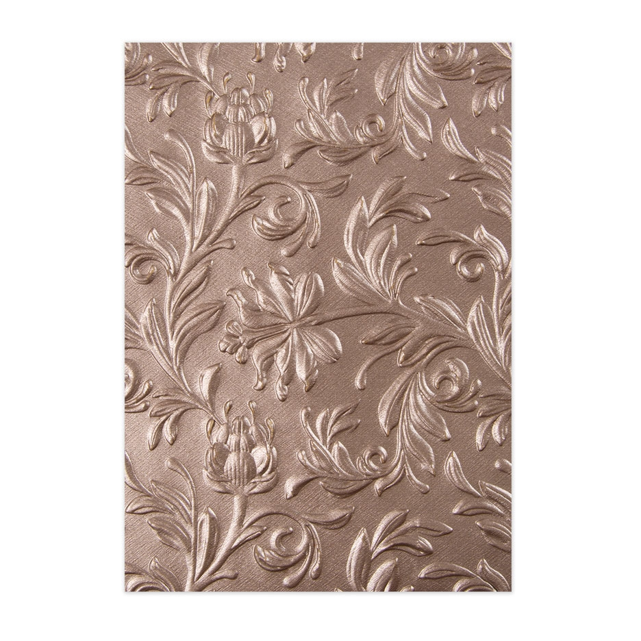 Tim Holtz Sizzix BOTANICAL 3D Texture Fades Embossing Folder 662716 zoom image