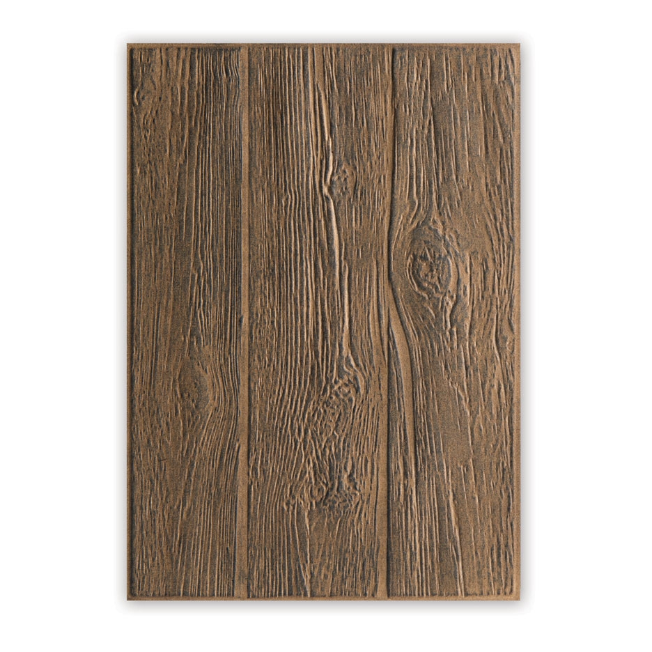 Tim Holtz Lumber 3D Embossing Folder