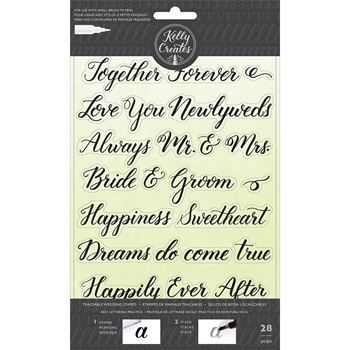 Kelly Creates TRACEABLE WEDDING Clear Stamps 346398