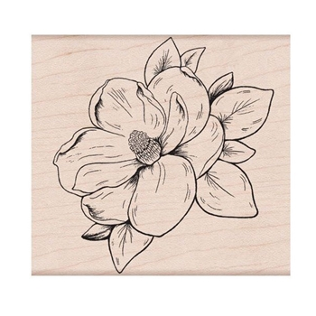 Hero Arts Rubber Stamp MAGNOLIA K6270