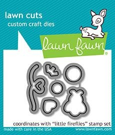 Lawn Fawn LITTLE FIREFLIES Lawn Cuts LF1594