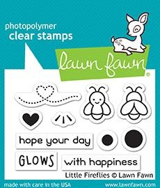 Lawn Fawn LITTLE FIREFLIES Clear Stamps LF1593 Preview Image
