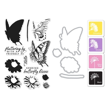 Hero Arts Color Layering SWALLOWTAIL Bundle SB184
