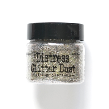 Tim Holtz Distress Glitter Dust MINI VINTAGE PLATINUM ranger111