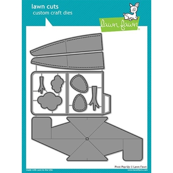 Lawn Fawn PIVOT POP-UP Lawn Cuts LF1611