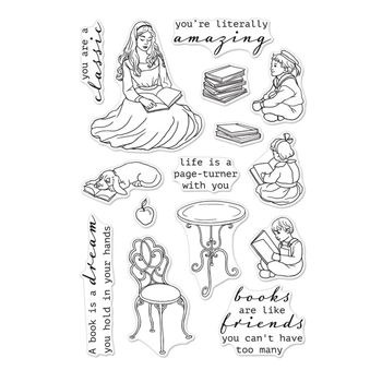 Hero Arts Clear Stamps STORY TIME CM232