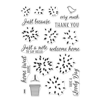 Hero Arts Clear Stamps LAYERED TOPIARY CM231