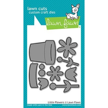 RESERVE Lawn Fawn LITTLE FLOWERS Lawn Cuts LF1619